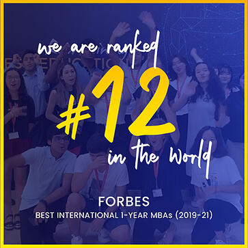 SP Jain Global MBA Ranked #12 in the world