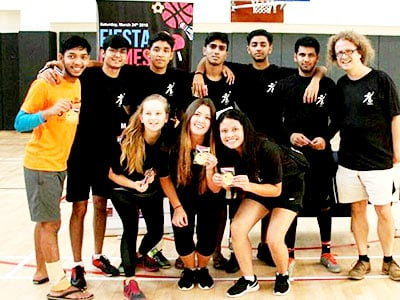BBA Jaguars and Alumni Participate in the FIESTA GAMES 2018