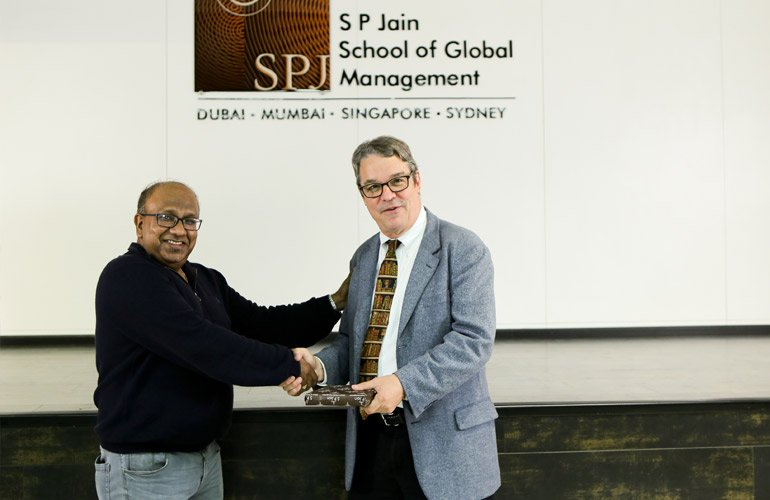 Dr Abhijit Dasgupta, Director – Big Data & Visual Analytics and Bachelor of Data Science, SP Jain, and Dr Lawrence Pohlman, Professor of Finance & Engineering, University of Massachusetts Boston