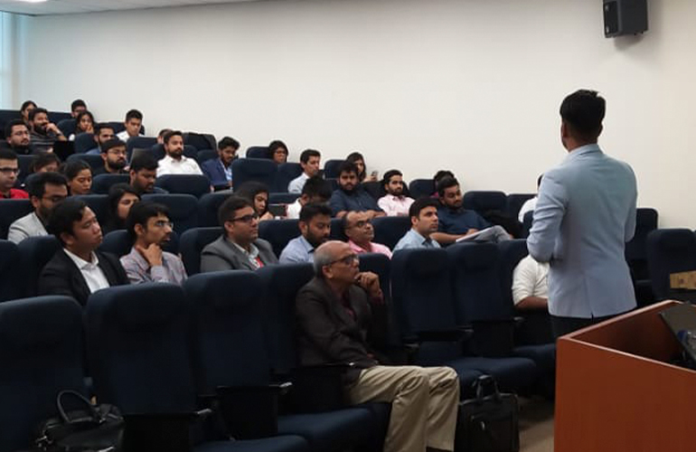 Our students got the opportunity to learn about New Market Entry and business expansion strategies