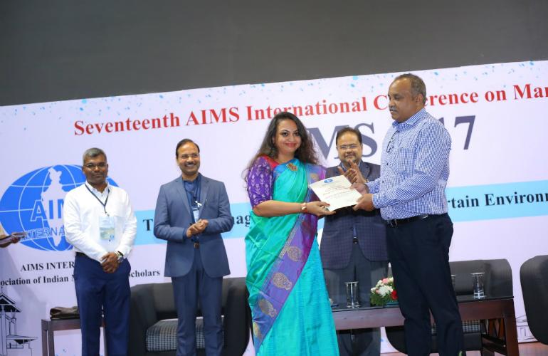 SP Jain's Dr Smitha S Ranganathan