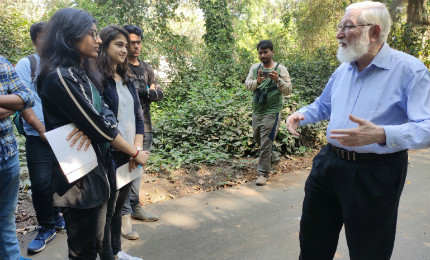Learning sustainable business practices – BBA students visit Tata Power