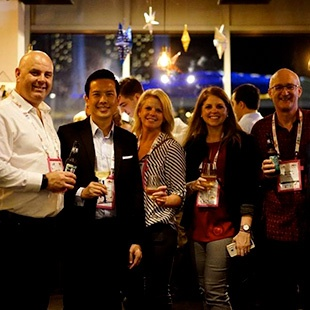 SP Jain and Flywire Host a Networking Event At 2018 APAIE, Singapore