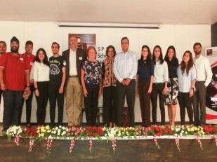 BBA Dean Dr. Marion Igarashi Addresses Students at the Alumni Meet, Mumbai