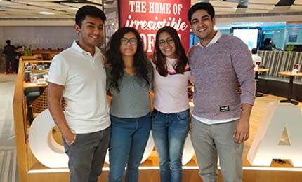BBA Jaguars excel at the Entrepreneurial Pitch at Seaside Startup Summit in UAE
