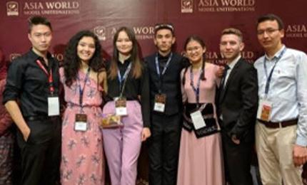 Going Viral at Asia World Model United Nations – Meerim Imarbekova's Story