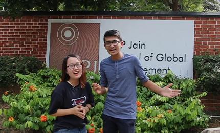 Discover Study Spots at SP Jain's Singapore campus