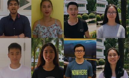 21 Nationalities. 1 Global Classroom.