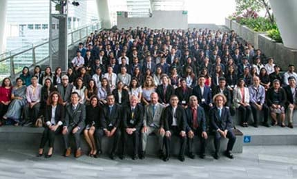 BBA Orientation Day, Singapore – Class of September 2018