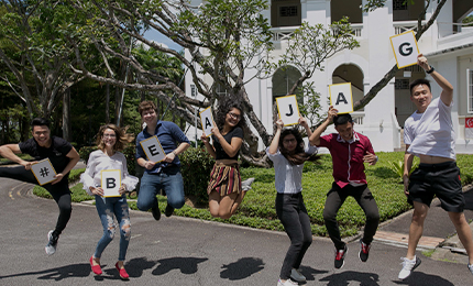 Thriving in Singapore – Advice from Jags'18