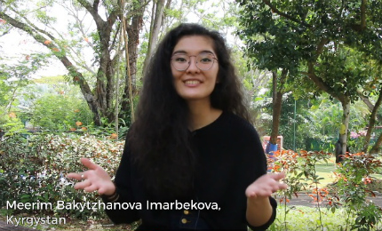 First Year at SP Jain - Meerim Imarbekova (BBA Sep'18)