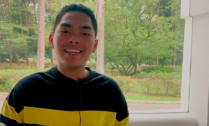 Andrei Teves (BBA'19) talks about his favourite SP Jain experiences
