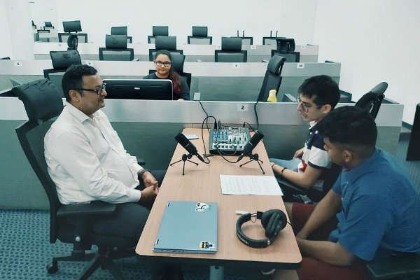 Joining the podcast revolution – SP Jain launches FM 12.0 radio