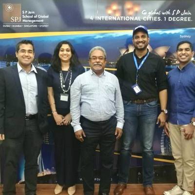 SP Jain hosts leaders from SME Centre